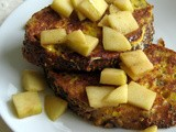 French Toast with Cinnamon Apple Compote