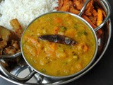 Butternut Squash& Drumstick Leaves Dal Curry