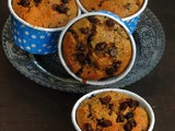 Chia Seeds & Chocolate Chips Rye Muffins