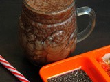 Chocolate Chia Seeds Milk
