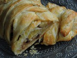 Easy Apple & Chocolate Chips Strudel