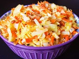 Carrot & Cabbage Stir fry / Carrot & Muttaikose Poriyal