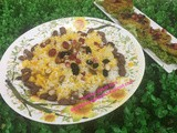 Iranian Jewelled Saffron rice