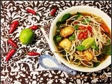 Served with love contest (10,000 hits giveaway) and a recipe - Vegetarian Pho