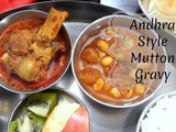 Andhra Style Mutton Curry ~ Step By Step Pictures