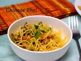 Chinese Bhel ~ Easy Snack for Kids