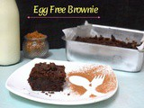 Egg Free Brownie Recipe | No Egg Buttermilk Brownies
