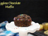 Eggless Chocolate Chocolate Chip Muffin