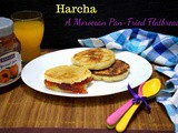 Harcha ~ Moroccan Semolina Pan Fried Flatbread