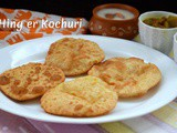 Hing er Kochuri ~ a to z Indian Pooris