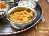 Navratan Kurma | How to make Navratan Korma