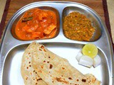 Sprouted Moong Makhani ~ Side dish for Rotis