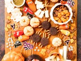 Halloween Snack Board for Kids