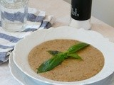 Turkish Aubergine Cream Soup/