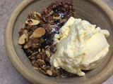 Blackberry Almond Crisp fruit & nuts paired deliciously