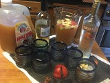 Caramel Apple Sangria perfect for fall