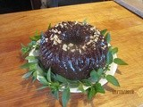 Chocolate Chip-Walnut Zucchini Cake . . . adding garden goodness to a Bundt cake