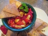 Cinnamon Chips with Fresh Fruit Salsa – an easy treat for Cinco de Mayo