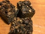 Dairy free, contains no wheat or soy - Double Dark Chocolate Granola Bar Cookies