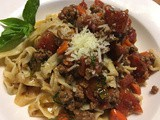 Everyday Bolognese another sauce for our homemade pasta