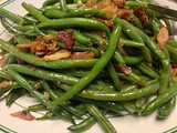 Fresh Green Beans with Bacon & Onions