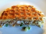 Fried Chicken Salad on Pecan-Maple Waffles, or use to top crackers or