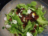 Garden Goodness: Wilted Lettuce with Bacon Vinaigrette