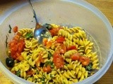 It's a Main Dish or s Side Salad — Garden Pasta Salad