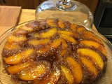 Kathy Coup's Peach Upside Down Cake