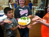 Kids in the Kitchen -- Fruit Palm Tree & Yummy Yogurt Dip