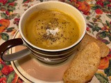 Mexican-style Butternut Squash Soup