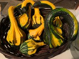 Preserving Gourds - a non-edible kitchen project