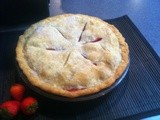 Three generations of Veach bakers present: Rhubarb Pie, Apple Galette & Cinnamon Rounds
