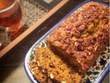 Pumpkin Cake with Pecans and Dark Chocolate Chunks