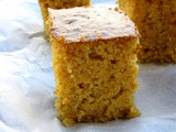 Eggless Corn Bread
