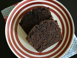 Eggless Butterless Chocolate Loaf Cake | Egg-free Butter-free Chocolate Cake Recipe