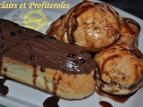 Choux Pastry Recipe for Eclairs and Profiteroles
