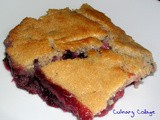 Whole wheat mixed berry cobbler