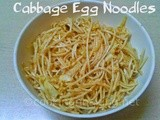 Cabbage Egg Noodles