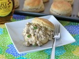 Buttermilk Biscuits with Maple Sausage Gravy #SundaySupper and a Fantastic Giveaway