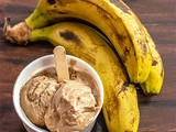 Banana Peanut butter Ice cream