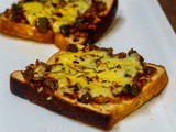 Easy Bread Pizza Recipe