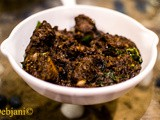 Pandi Curry a.k.a Coorgi Pork a.k.a. Kodava style pork by Chef Piyush Menon from the Coastal Macha