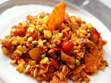 Mexican-Indian corn chaat