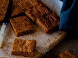 Caramelised White Chocolate Brownies