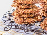 Coconut Flour Anzac biscuits {dairy free + refined sugar free + vegan}