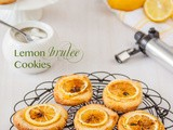 Lemon Brulee Cookies