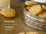 Pistachio and Cardamom Cookies