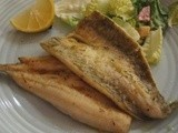 King George Whiting with thyme and lemon