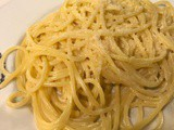 Spaghetti with creamy Vodka & Lemon Sauce